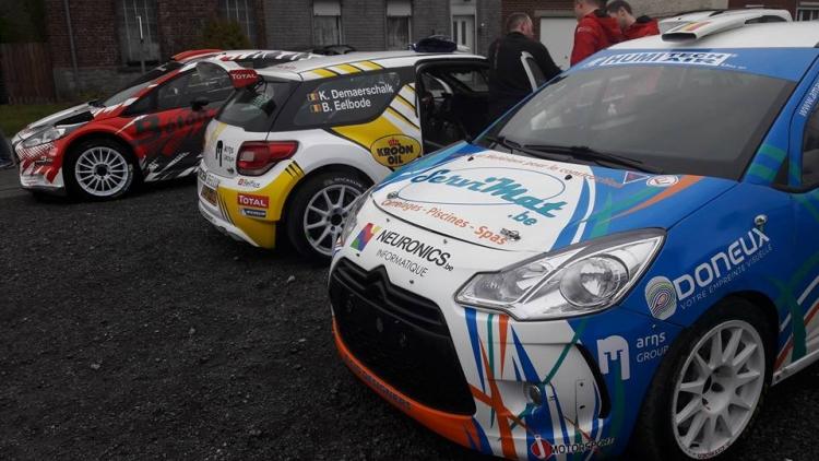 Vijf rally's met een DS 3 R5 voor Kevin Demaerschalk!