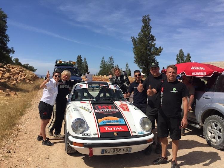 Geslaagd debuut voor MY Vintage in de Maroc Historic Rally