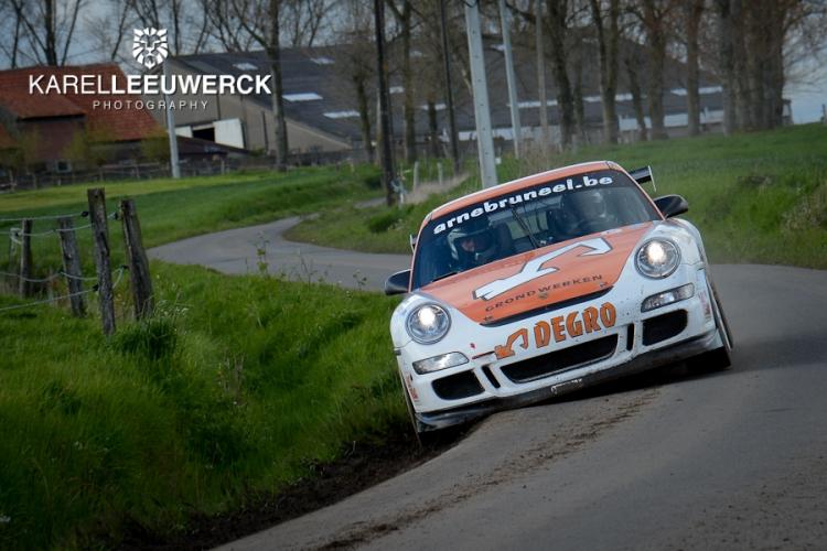 Geslaagd weekend voor het Degro Rallyteam op de Monteberg