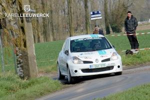 TAC Rally: Bjorn Renier mooi tweede in het RACB Rally Criterium