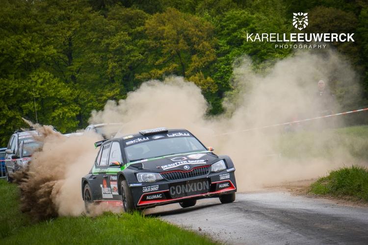 Vincent Verschueren wint spannende Rallye de Wallonie
