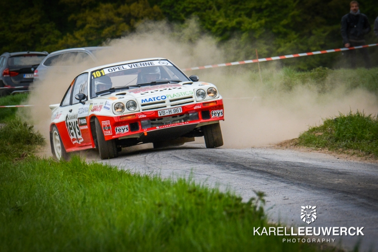 Paul Lietaer als underdog in de Las Vegas Ypres Historic Rally
