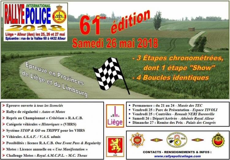 Nieuw wedstrijdcentrum voor Rallye International Police