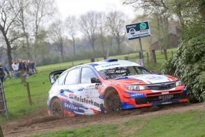 Centraal Nederland Rally: Erik Van Loon loopt winst mis door problemen