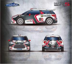 Citroën in de Condroz Rally met Hirvonen, Lefebvre, Matton, Bergkvist,...