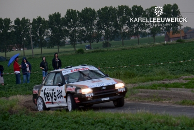 Paul Lietaer wint Las Vegas Ypres Historic Rally