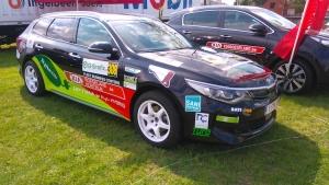 Electric Motorsport Team wordt achste in eerste editie van E Rally Omloop van Vlaanderen