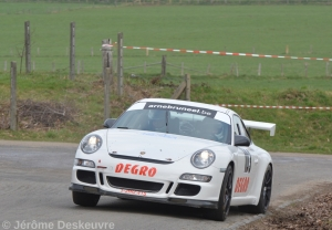 Goeie testsessie Trois Ponts voor Delplace en Degro-Porsche