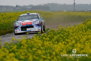 Craig Breen wint de Condroz Rally