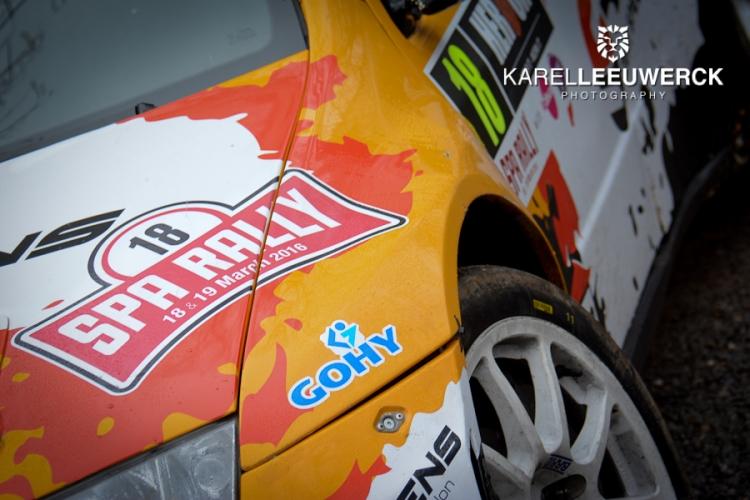 Herock Spa Rally: Gokken maar