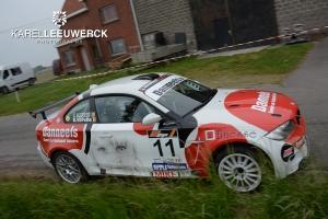 Cris Algoedt start zijn seizoen in de ORC Rally