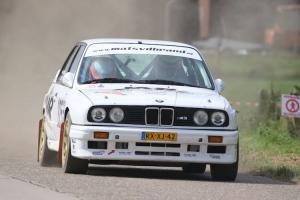 Mats van den Brand en Eddy Smeets winnen Historic Short Rally Kasterlee