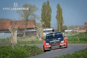 Vincent Verschueren als leider naar Rallye de Wallonie