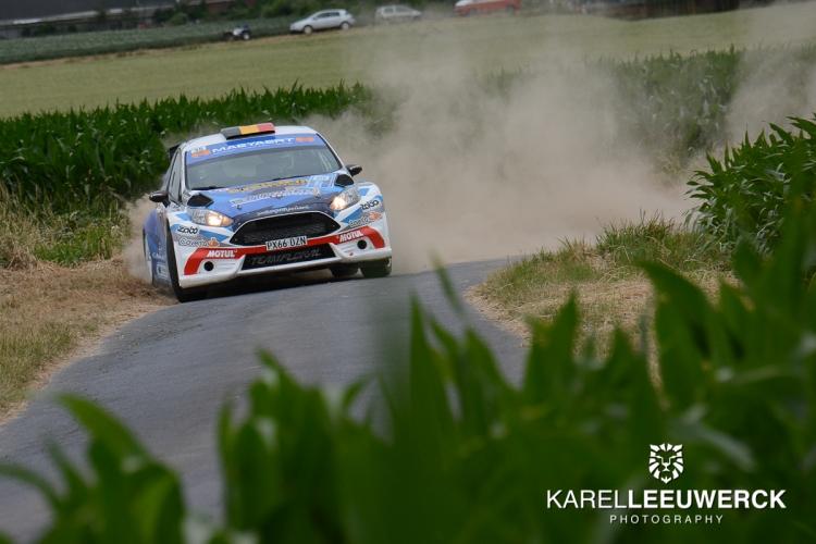 Thuisrijder Maeyaert heerst in TBR Rallysprint