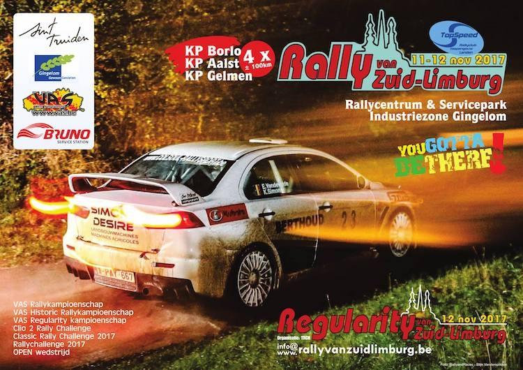 Rally van Zuid-Limburg bijna volzet