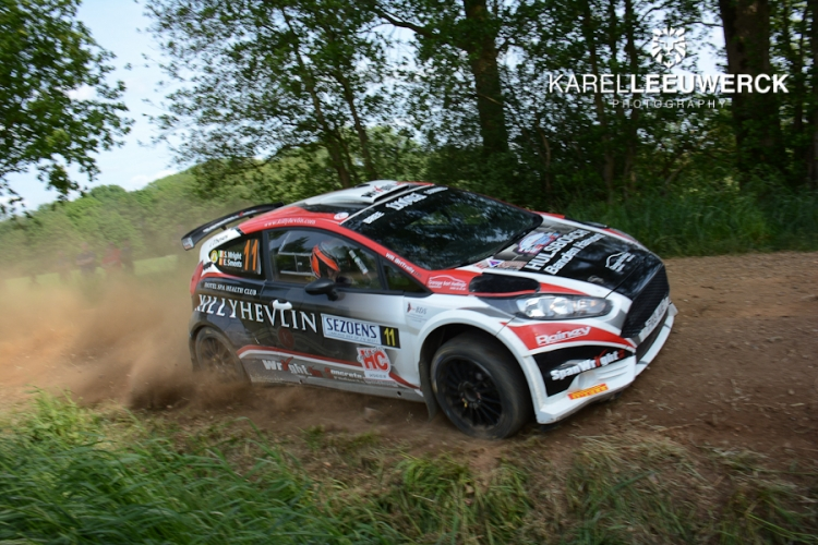 Stephen Wright weer op podium in Sezoensrally Bocholt