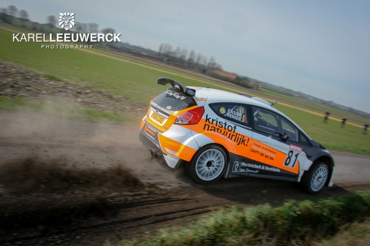 Bernd Casier overklast de tegenstand in Rallysprint Moorslede