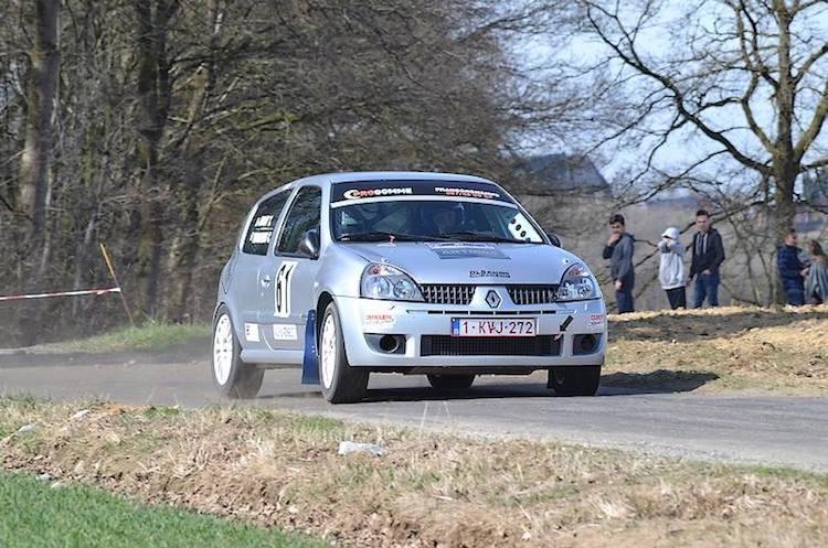 Clio 2 Rally Challenge van de partij in de Monteberg Short Rally