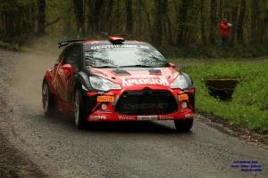 Magistraal startveld voor Rallye de Wallonië