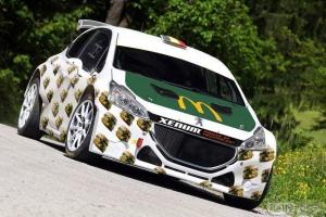 Joachim Wagemans met Peugeot 208 T16 R5 in Rally van Madeira