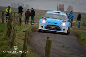 Vier wedstrijden voor Didier Duquesne met Ford Fiesta van First