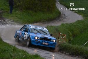 Didier Spillebeen begint zijn seizoen in Rallysprint van Moorslede