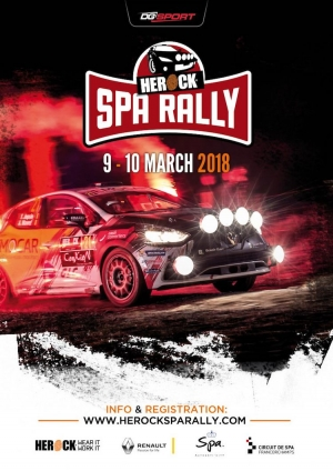Herock Spa Rally: Vijftien chronoritten