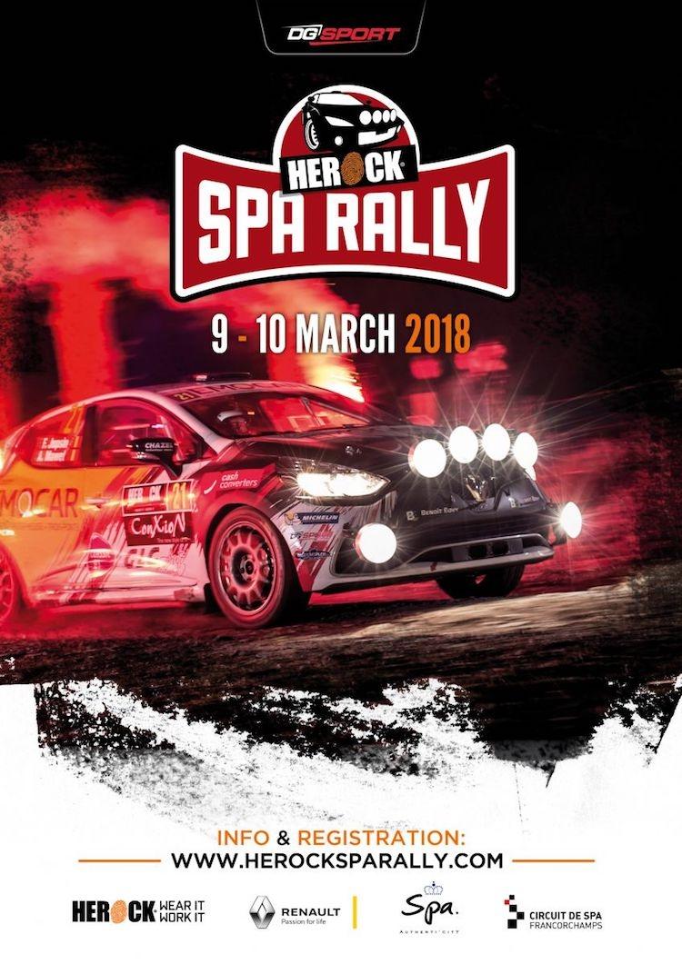 Inschrijvingen stromen binnen voor Herock Spa Rally