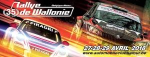 Ook dit jaar een shakedown voor de Rallye de Wallonie