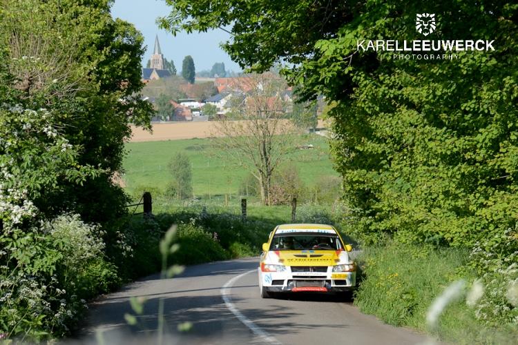 Goed gevulde deelnemerslijst voor Rallysprint van de Monteberg