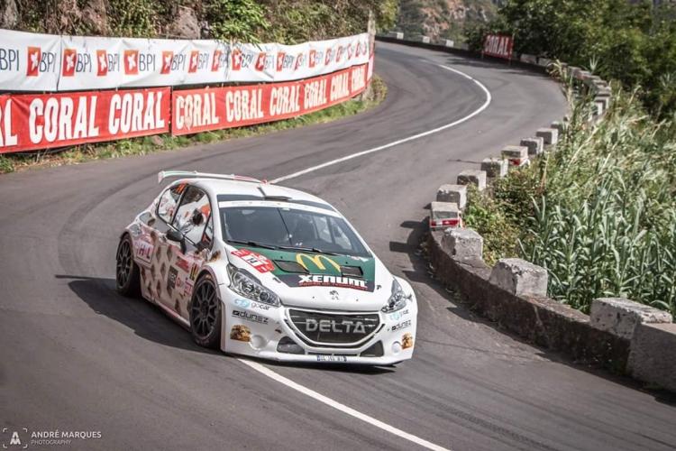 Joachim Wagemans knap zevende in Rali Vinho Madeira
