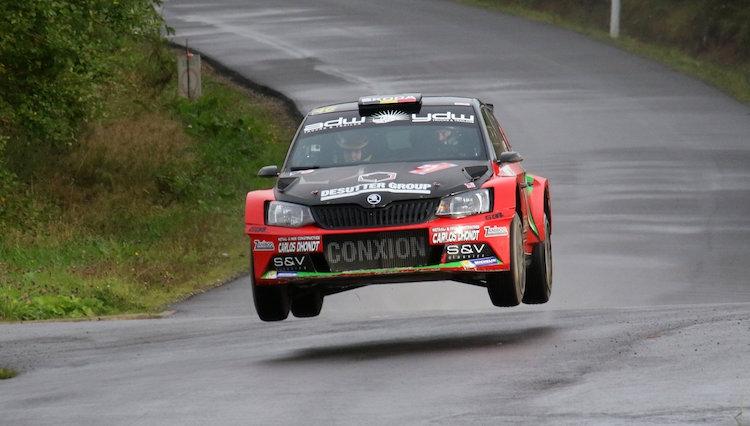 Verovert Vincent Verschueren zijn eerste Belgische rallytitel in Hoei?