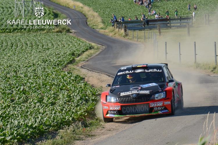 Vincent Verschueren opnieuw op podium in Ypres Rally
