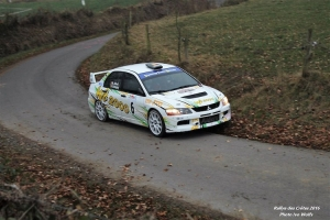 Michaël Albert met Skoda Fabia WRC in de Herock Spa Rally