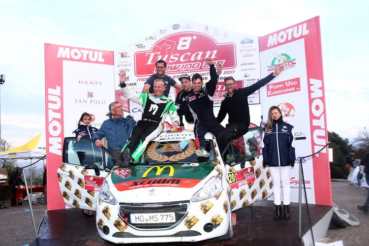 Joachim Wagemans wint de Tour European Rally Cup