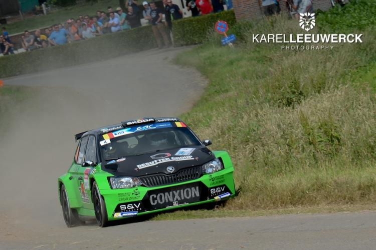 Kenotek Ypres Rally: Uitdroging houdt Vincent Verschueren van het podium