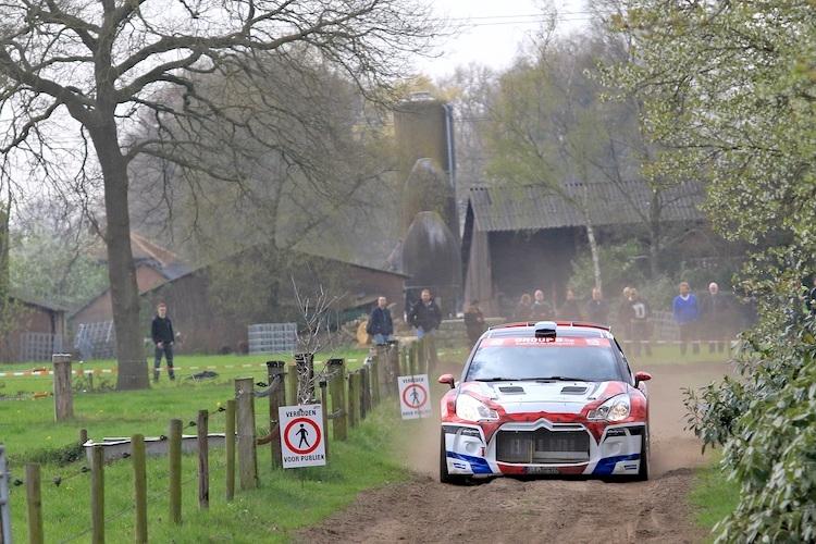 Centraal Nederland Rally: Citroën DS3 R5 geducht rallywapen in handen van Bob de Jong