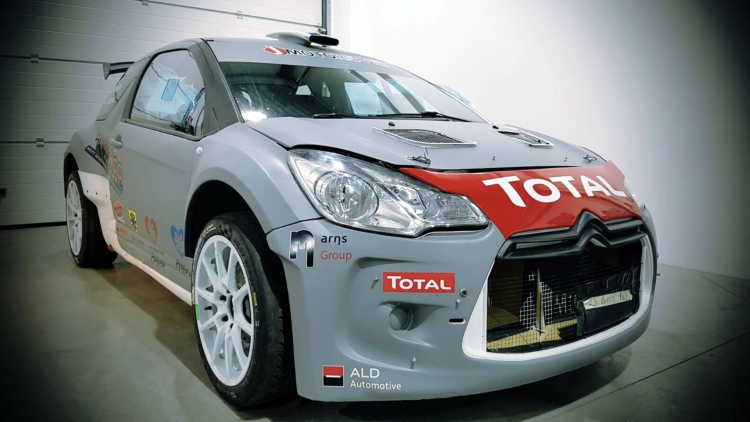 J-Motorsport met twee DS3's in de Rally van Monte-Carlo