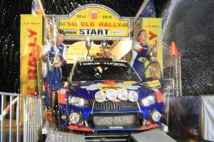 Hermen Kobus wint Nederlandse ELE Rally, Debackere vierde