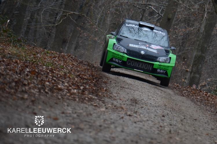 Mooie en verrassende namen aan de start van Herock Spa Rally