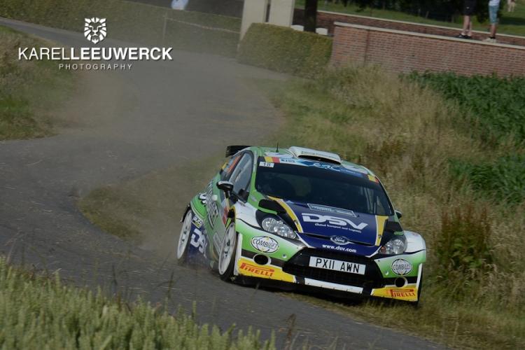 Het Brits kampioenschap te gast in de Kenotek Ypres Rally 2017