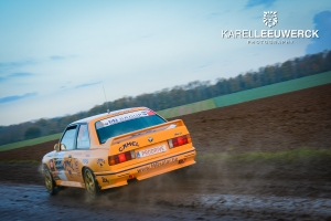 Robin Maes kent pech in Condroz Rally