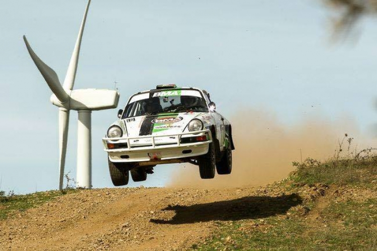 Historic Sardinië Rally: Vijf BMA Porsches in de top 10