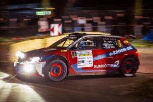 Hermen Kobus richting Duitse Sulinger Rallye