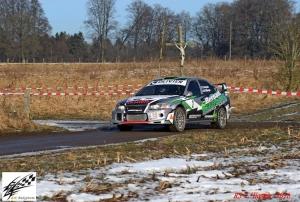 Weer pech voor Dennis Degroote in Rallysprint de la L'Homme