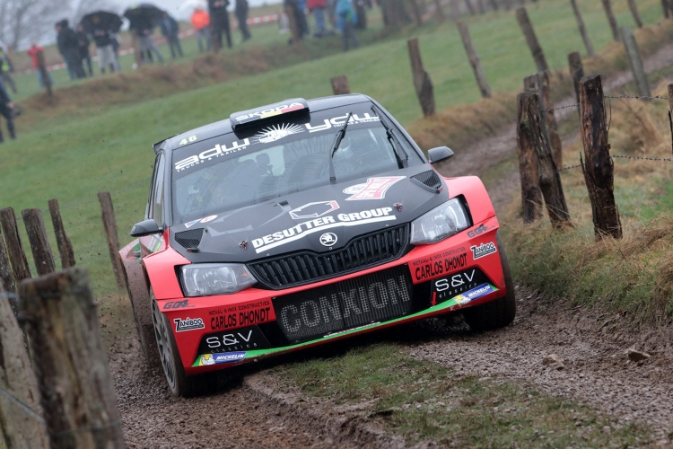 Service van Herock Spa Rally verhuist naar circuit van Spa-Francorchamps