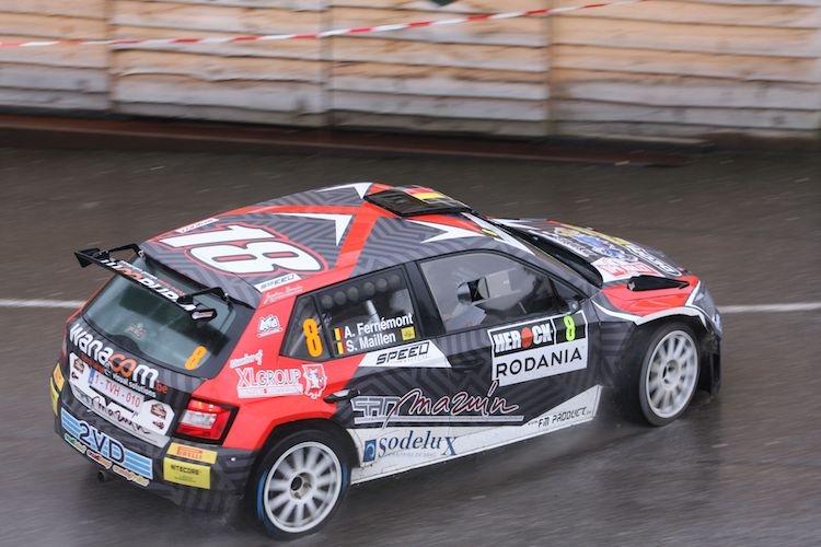 Adrian Fernémont wint de Herrock Spa Rally