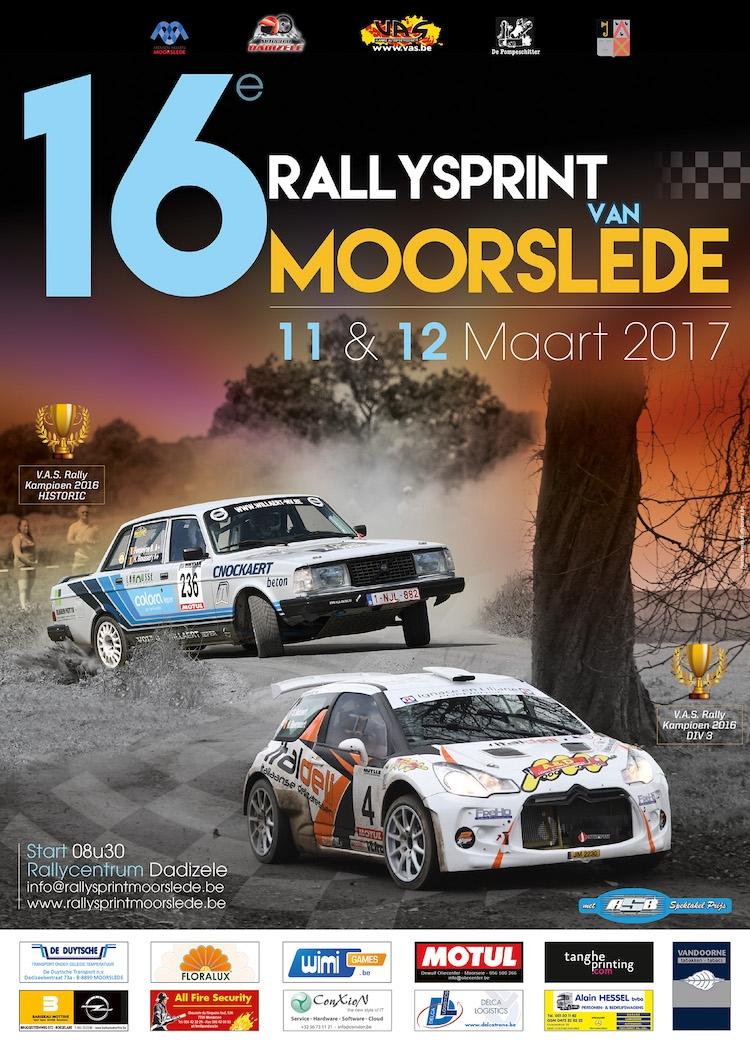 Preview Rallysprint van Moorslede