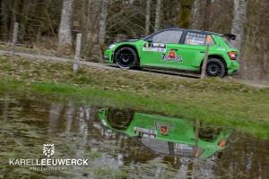 Vincent Verschueren wil progressie maken in Rallye de Wallonie