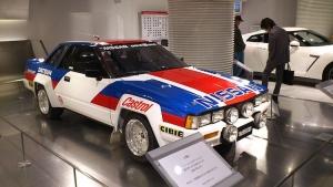Legend Boucles: Grégoire de Mevius in Nissan 240 RS Gr.B
